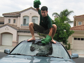 Eric Conveys: Hulk Smash!!! (click to find out what other things Hulk do)