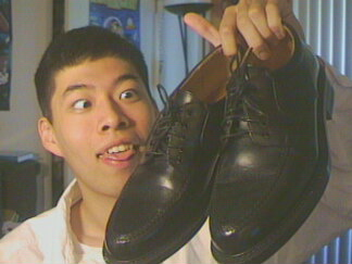 Eric Conveys: New pair of shoes!